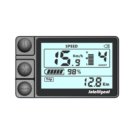 LCD jednobarevný display LCD 450U