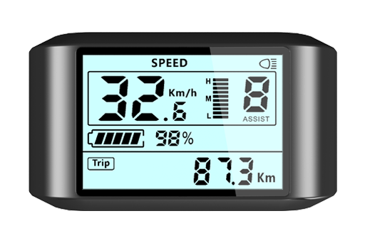 LCD jednobarevný display LCD 750S