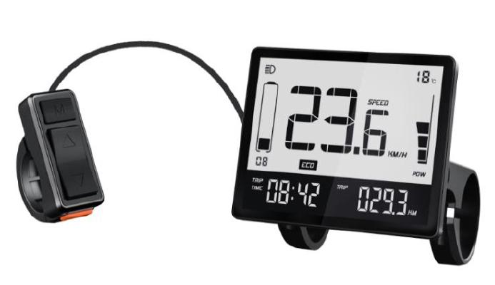 LCD černobílý display LCD DS102