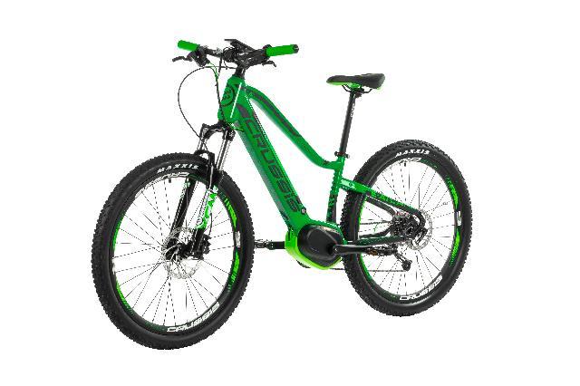 Elektrokolo crussis 102 e atland 6.5 junior barva zelena 7