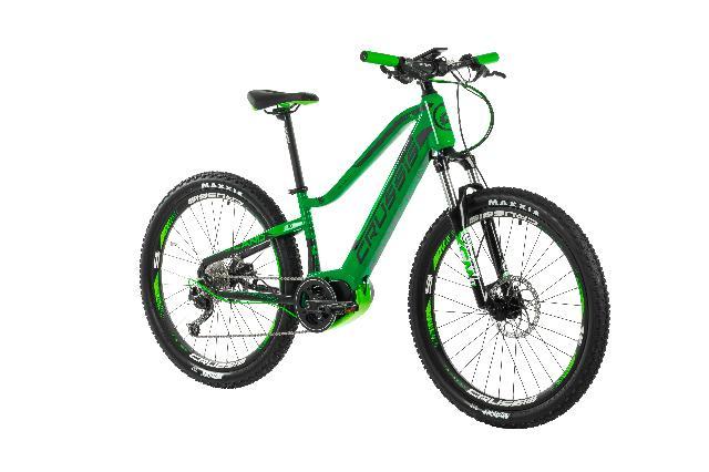 Elektrokolo crussis 102 e atland 6.5 junior barva zelena 8