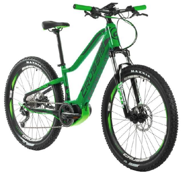 Crussis e-Atland 6.5 junior barva ZELENÁ 2020 kola 26 baterie 14 Ah