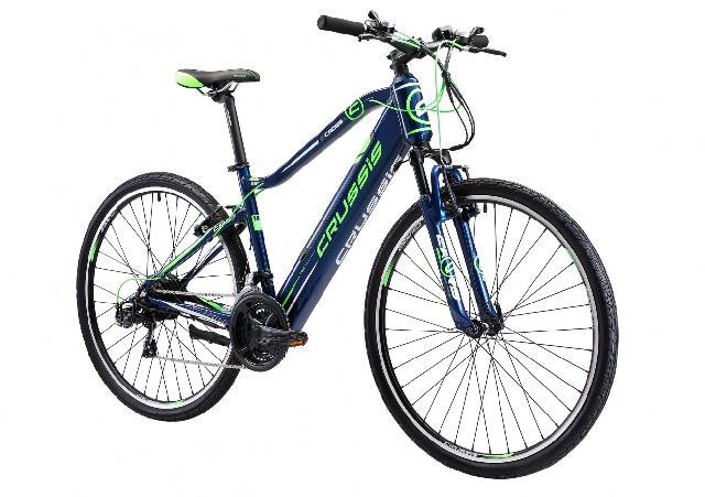 Elektrokolo crussis 145 e cross 1.5 s barva modra zelena 2