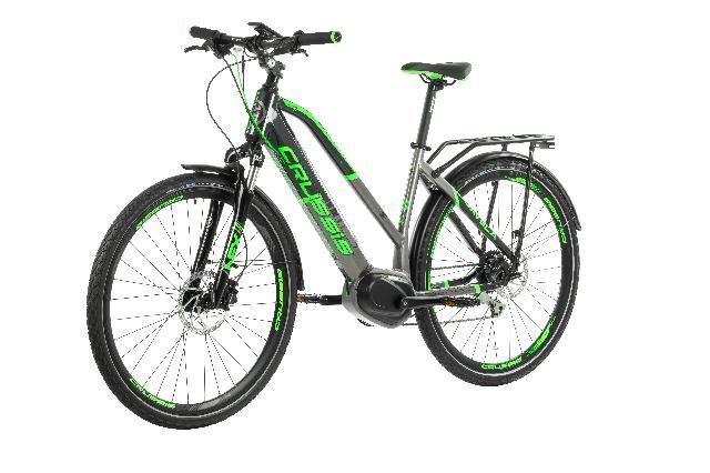 Elektrokolo crussis 160 e savela 7.5 barva seda zelena 1