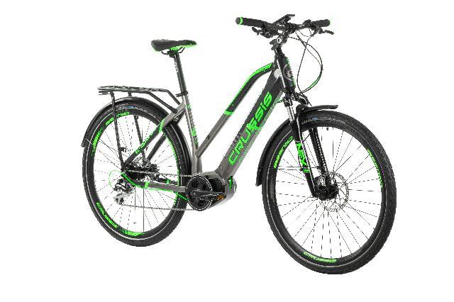 Elektrokolo crussis 160 e savela 7.5 barva seda zelena 3
