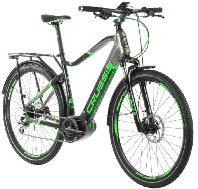 Elektrokolo crussis 163 e gordo 7.5 s barva seda zelena