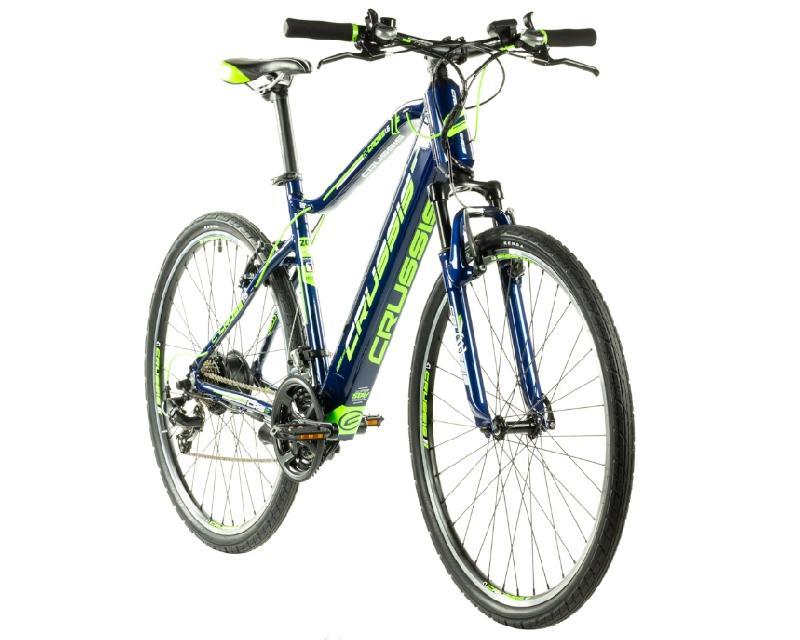 Elektrokolo crussis 327 e cross 1 6 barva modra zelena 2