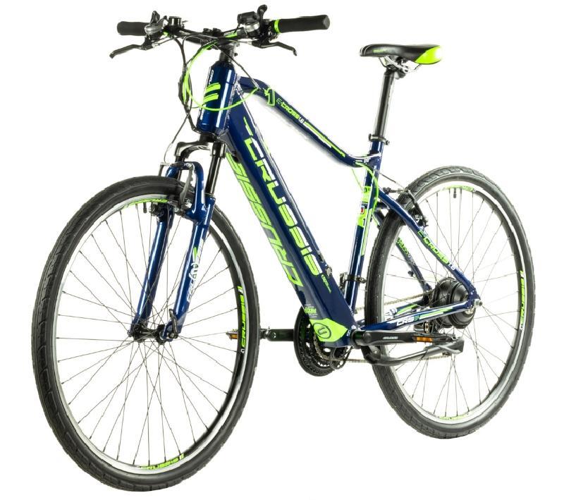Elektrokolo crussis 327 e cross 1 6 barva modra zelena 3
