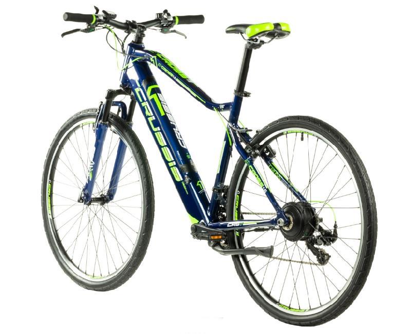 Elektrokolo crussis 327 e cross 1 6 barva modra zelena 5