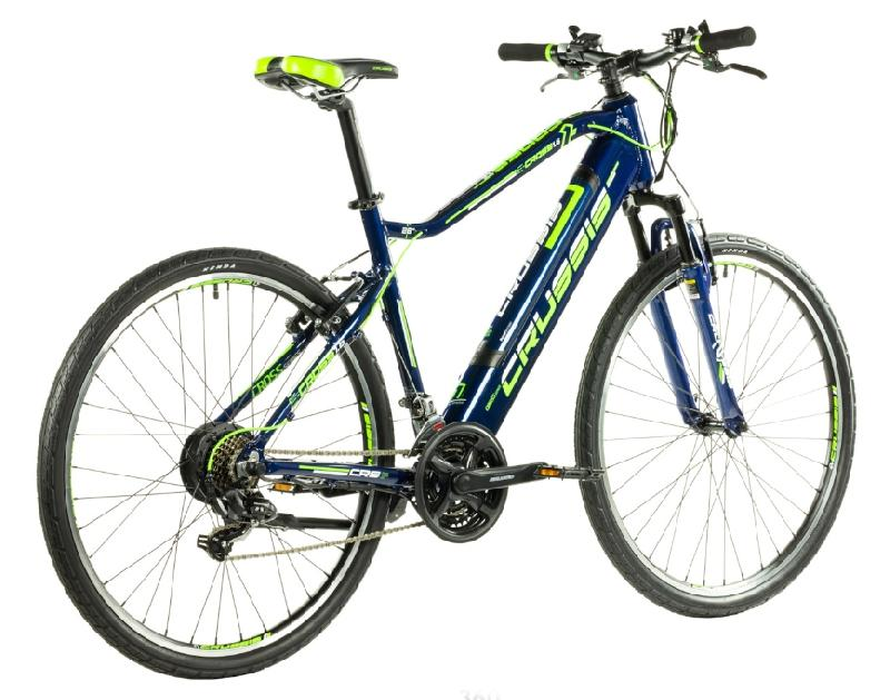 Elektrokolo crussis 327 e cross 1 6 barva modra zelena 6