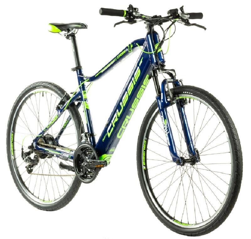 Elektrokolo crussis 328 e cross 1 6 s barva modra zelena