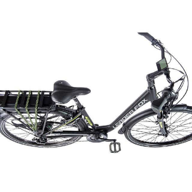 Elektrokolo leader-fox 173 park city barva cerna mat zelena 2
