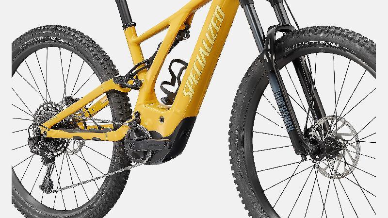 Elektrokolo specialized 407 turbo levo barva brassy yellow 6